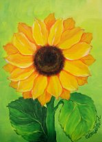 Painting Classes, Sunflower