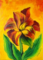 Painting Classes, Red Lily