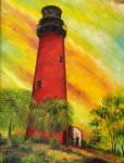 Painting Classes, Jupiter Inlet Lighthouse