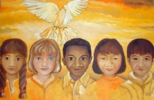 The 9/11 Children Painting