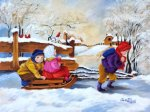 Children Sleigh Ride