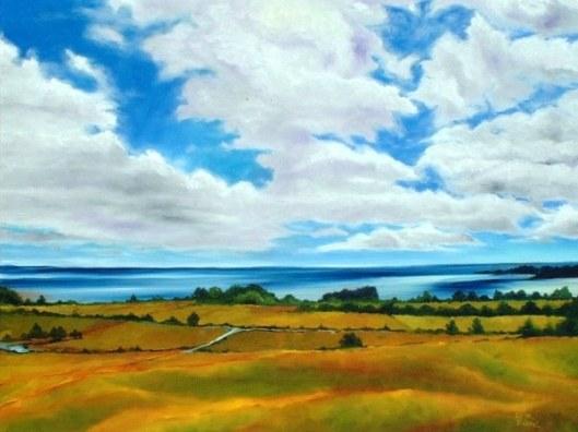Lago Llanquihue, Oil Painting