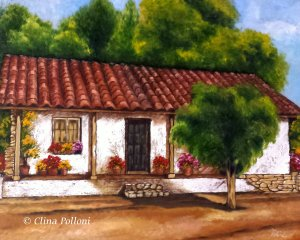 Casa de Campo Painting