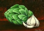 Artichoke and Garlic
