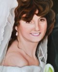Wedding Oil Portrait
