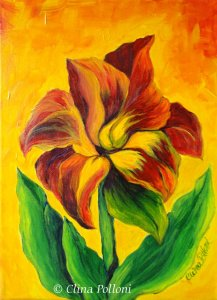 Red Lily-Painting Classes