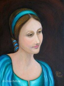 Portrait of Isabella de Polloni y Lepiani