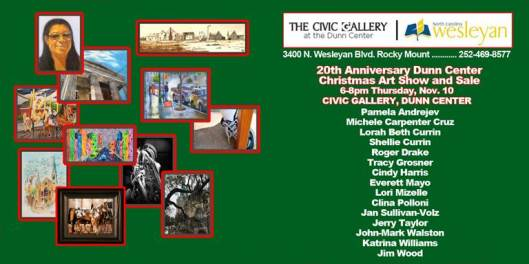Christmas Art Show at The Civic Gallery