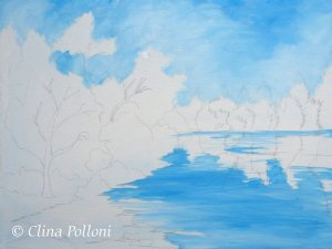 Shelley Lake Painting