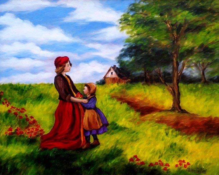 Sisters Love Painting