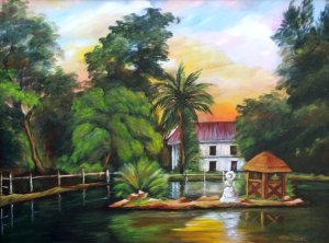 The Lady of The Plantation