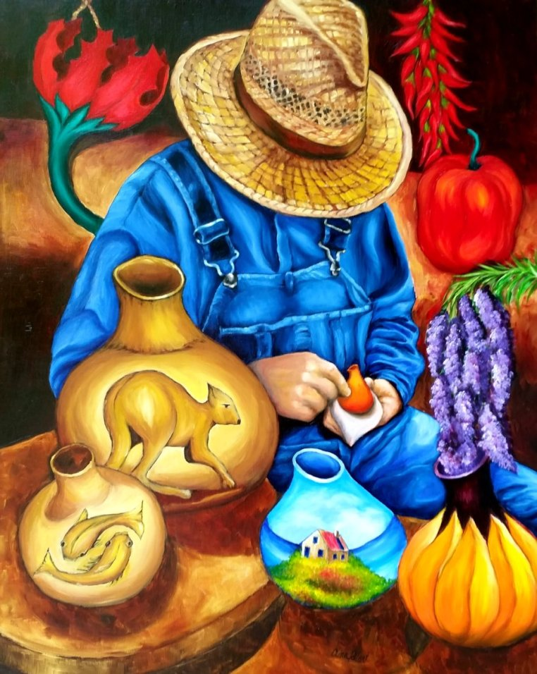 The Gourd Artist of NC