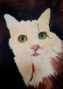 Pet Portrait-Mr Parker Underpaint