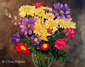 Colors Of Flowers Painting