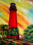 The Jupiter Inlet Lighthouse