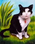 Oil Pet Portrait-Chester