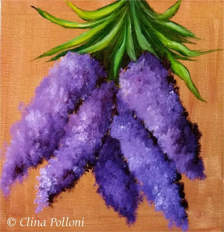 Lavenders Painting