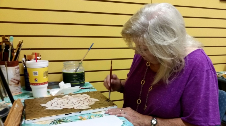 Painting Classes at the Little Art Gallery