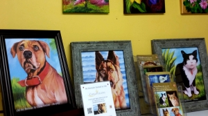 Pet Portraits at the Little Art Gallery