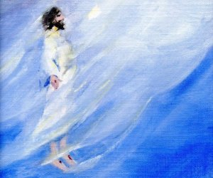 Ascension of Jesus by Deb Allen
