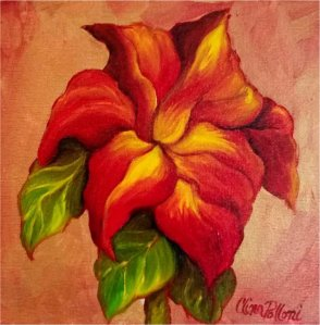 Red Lily Painting Class