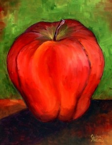 Red Apple Painting Class